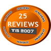 Awarded when user completes twenty-five reviews.